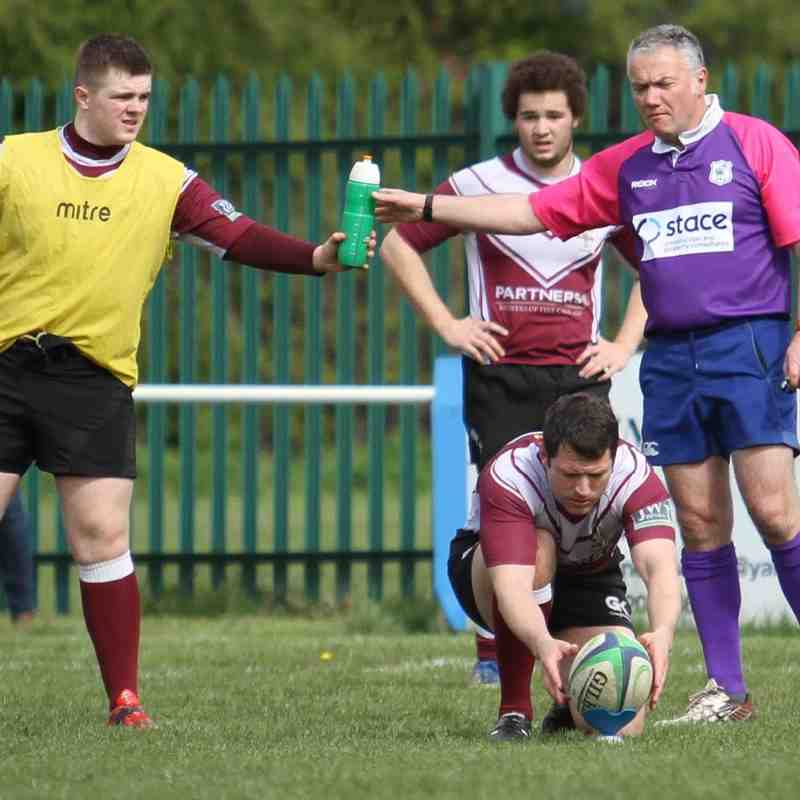 Eddie Sparks - Mark Chester - ref Colin Tovey