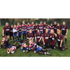 Morley U13s girls v Castleford Feb 5 2017