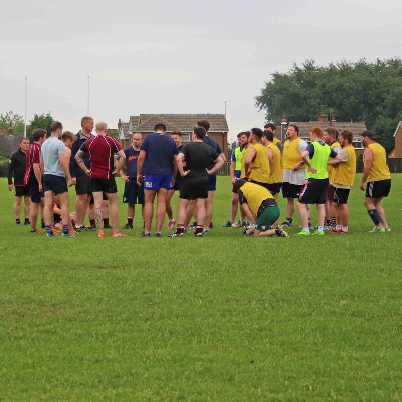Pre-Season Training has started - next session Thursday June 22 - 7:00pm