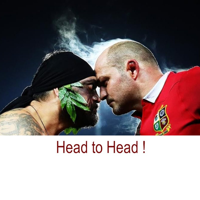 Lions and All Blacks go Head to Head - Sat 8:15am MRFC