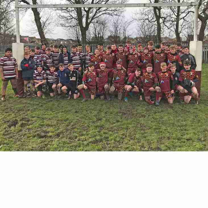 Morley U14s through to Yorkshire Cup Final