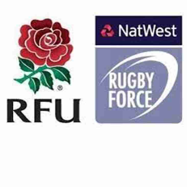 RugbyForce weekend - June 23 2018. From 12.30pm
