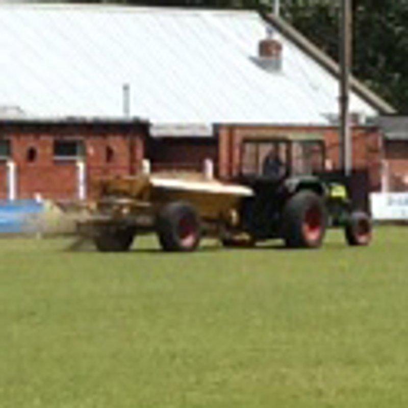 Pitch Preparation gets under way