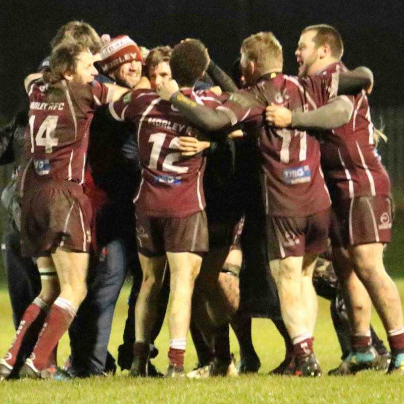 Morley beat League Leaders