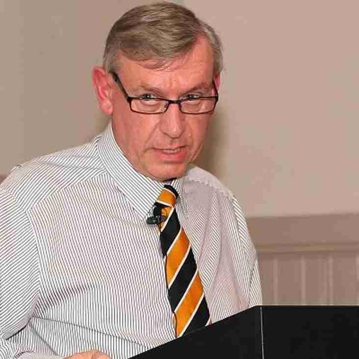 Chairman delivers stadium update