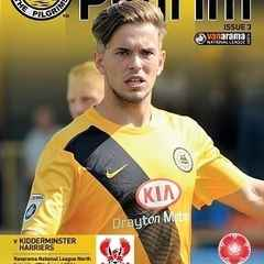 Programme - Kidderminster Harriers