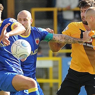 Boston United 2-0 Chorley