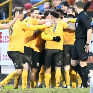 Boston United 2-1 Blyth Spartans