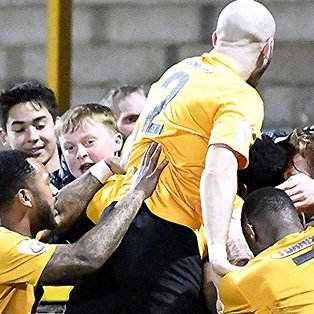 Boston United 3-0 Harrogate Town
