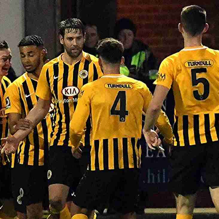 Pilgrims stung by stoppage time blow