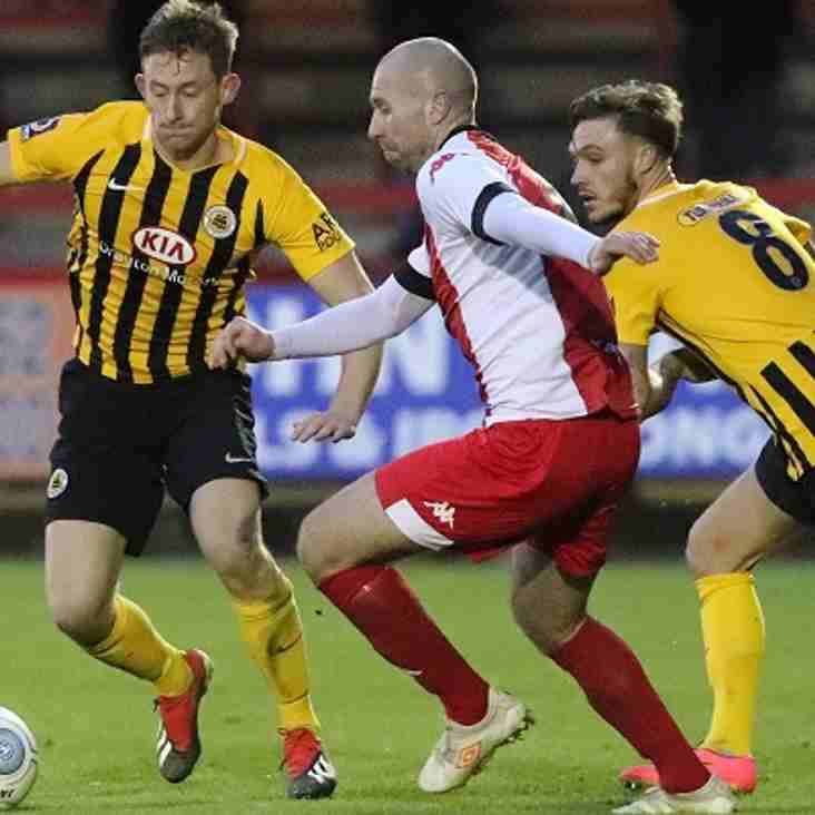 First half double sinks Harriers