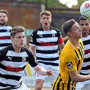 Boston United 0-2 Darlington