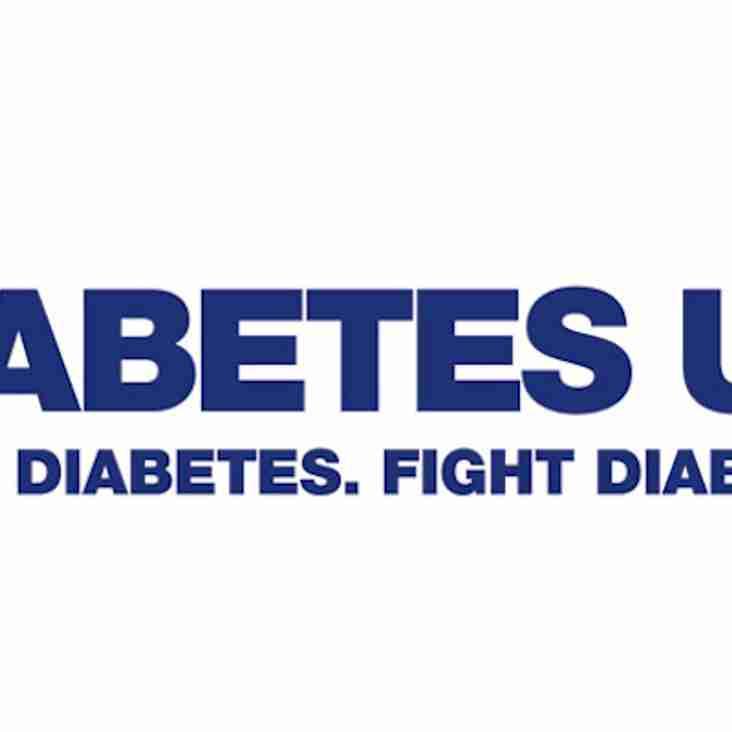 United set for Diabetes UK event
