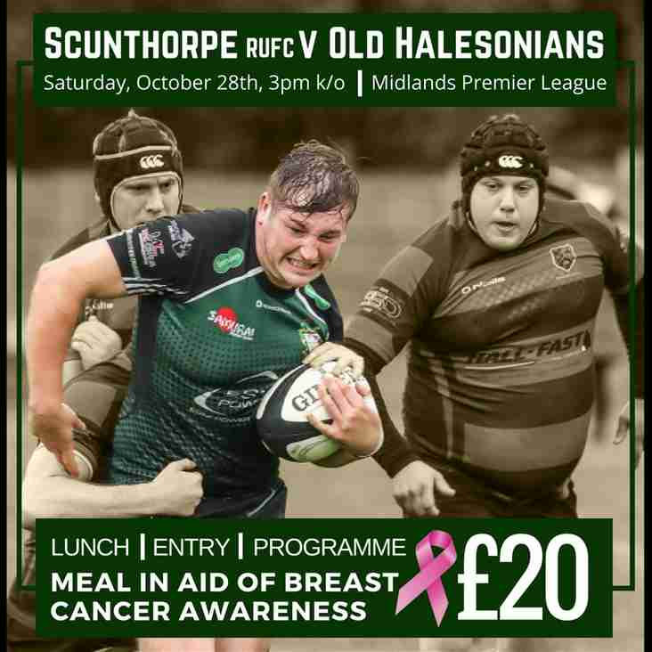 1st XV Lunch in aid of Breast Cancer Awareness