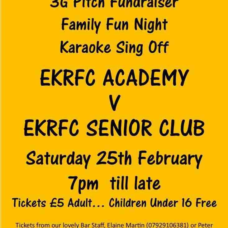 EKRFC  Fundraiser - Karaoke Sing Off