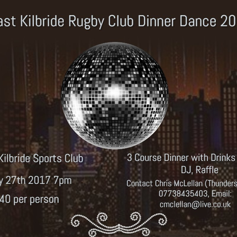 Annual Dinner Dance 27th May - roll up, roll up!!