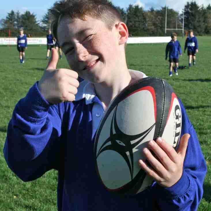 Mini Rugby Starts again very soon