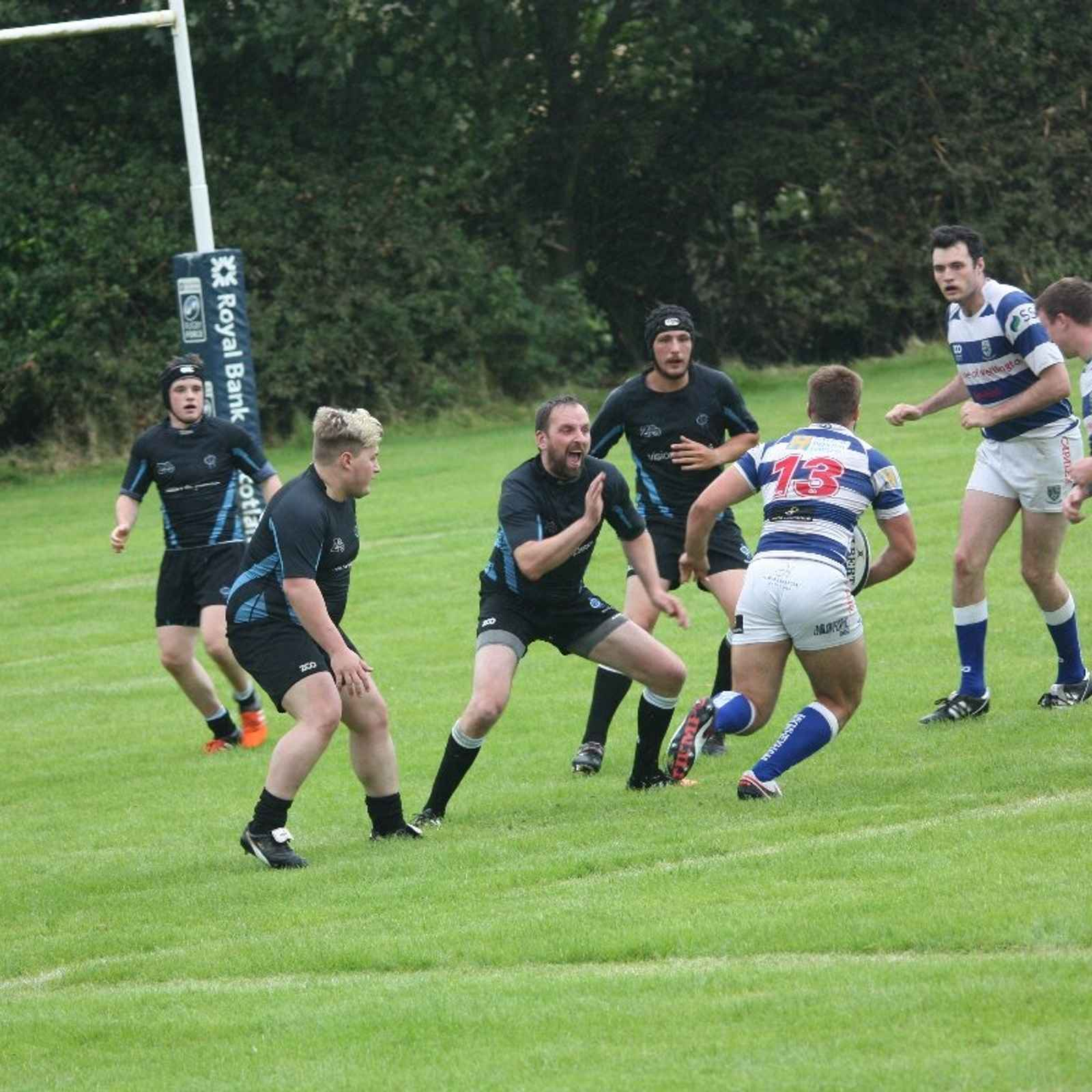 Berwick Exit Northumberland Cup