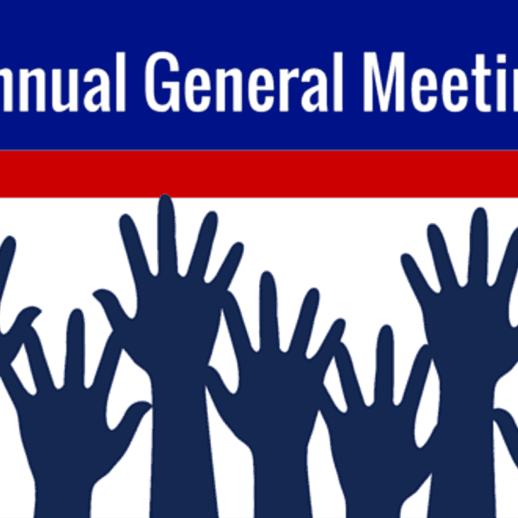 AGM Thursday June 28 - 8pm in Clubhouse