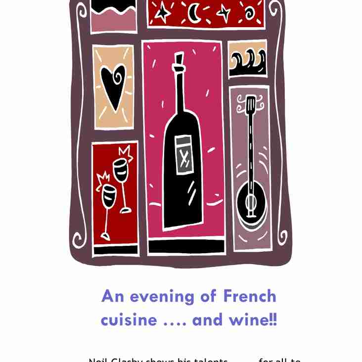 Friday 22nd September - French Night