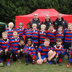 Under 8s Squad at the Blackheath RFC Festival
