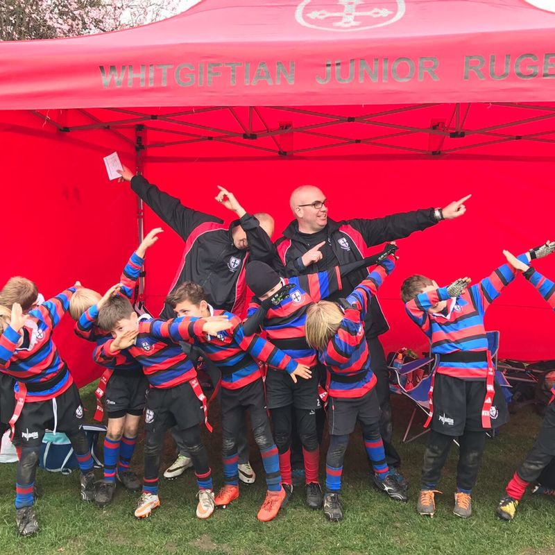 U8 beat Dorking RFC 2 - 10