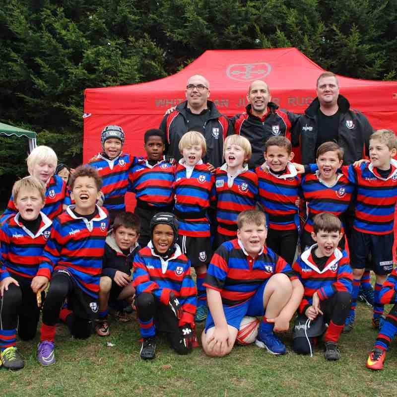 Under 9s Rugby!