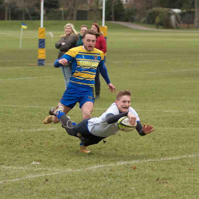 OE's Academy (White Shirts) Vs Beckenham (H) Jan 25 2015