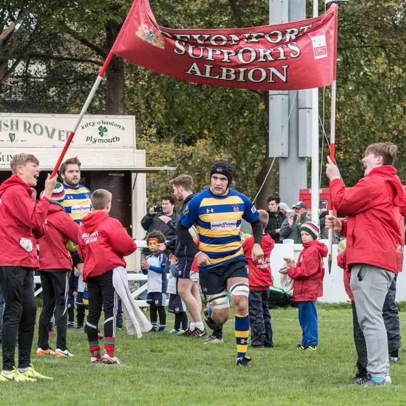 OEs 1st XV Vs Plymouth Albion (A) 21 Oct 2017-18