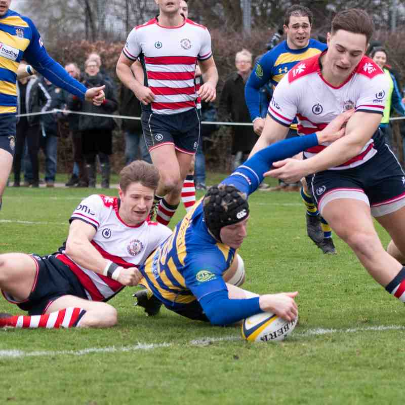 OEs 1st XV vs Rosslyn Park (H) 12 Jan 2018-19