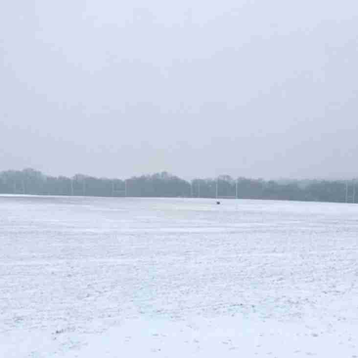 Sunday 18th March 2018 - Rugby is cancelled due to weather