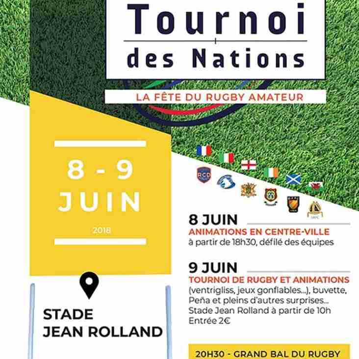 The Amateur 6 Nations Tournament 2018