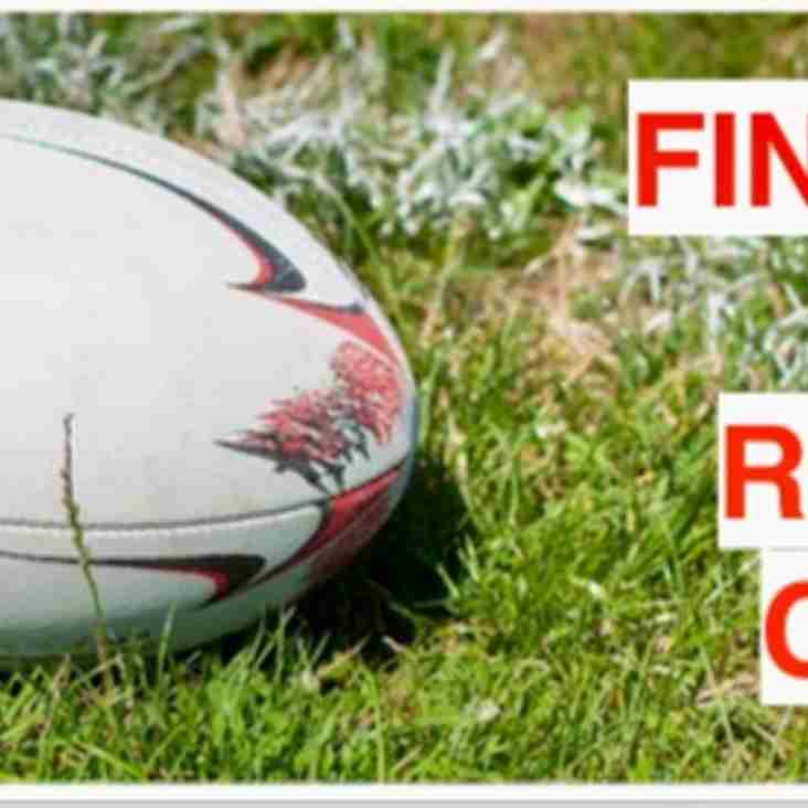 Sign up for the October half term Rugby Camps at Finchley RFC