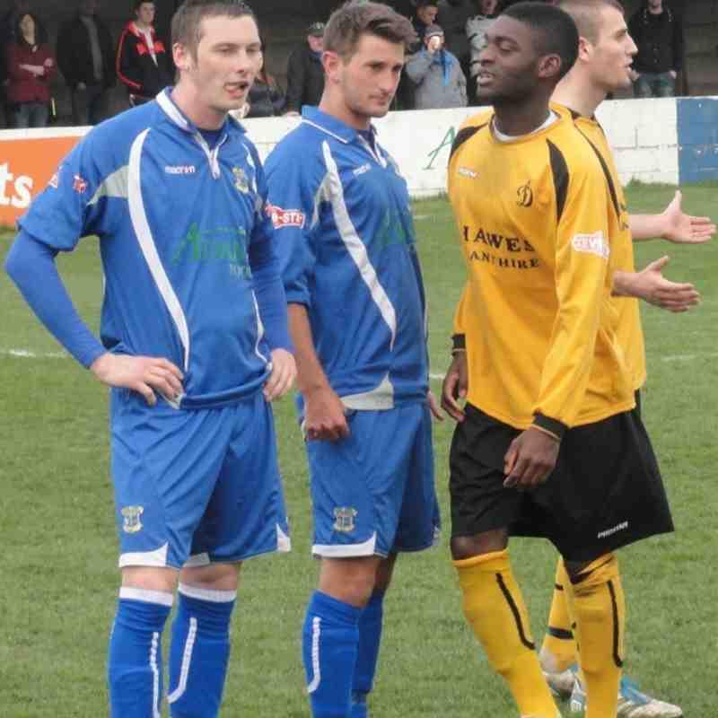 Leek Town v Loughborough Dynamo 31/03/12
