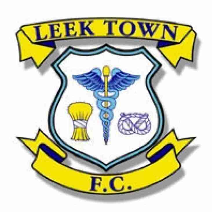 LEEK TOWN ACFC LEAGUE CHAMPIONS