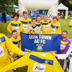 LEEK TOWN AC IN THE FA PEOPLE'S CUP