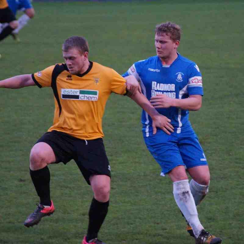 Newcastle Town v Leek Town 26/12/15