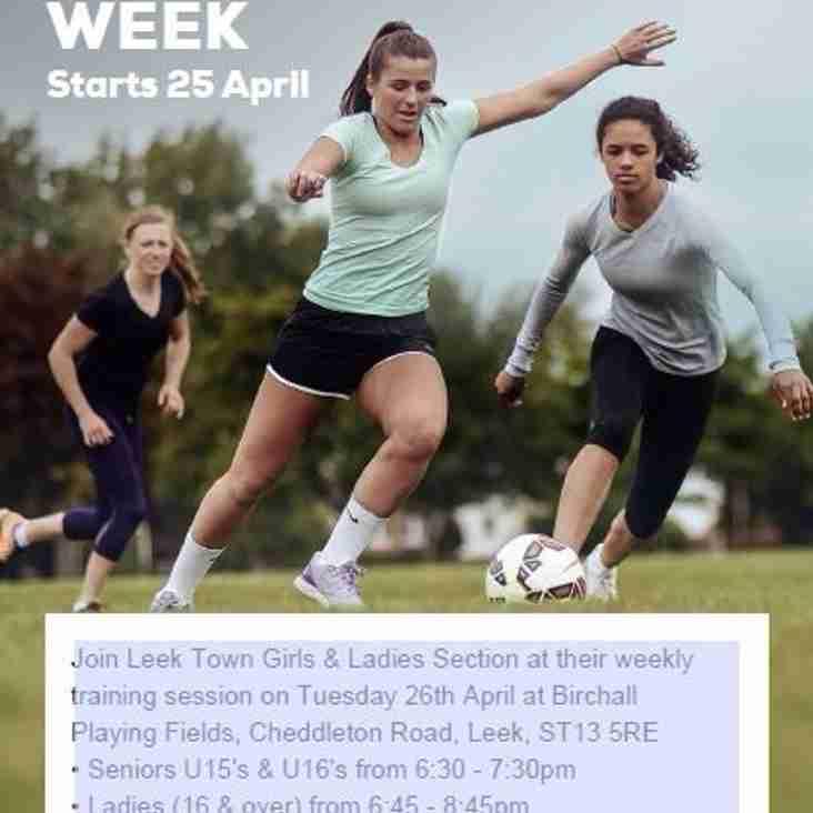 BLUES PROMOTING FA GIRLS FOOTBALL WEEK