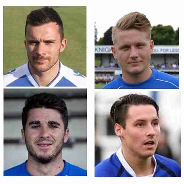 FOUR MAJOR SIGNINGS CONFIRMED