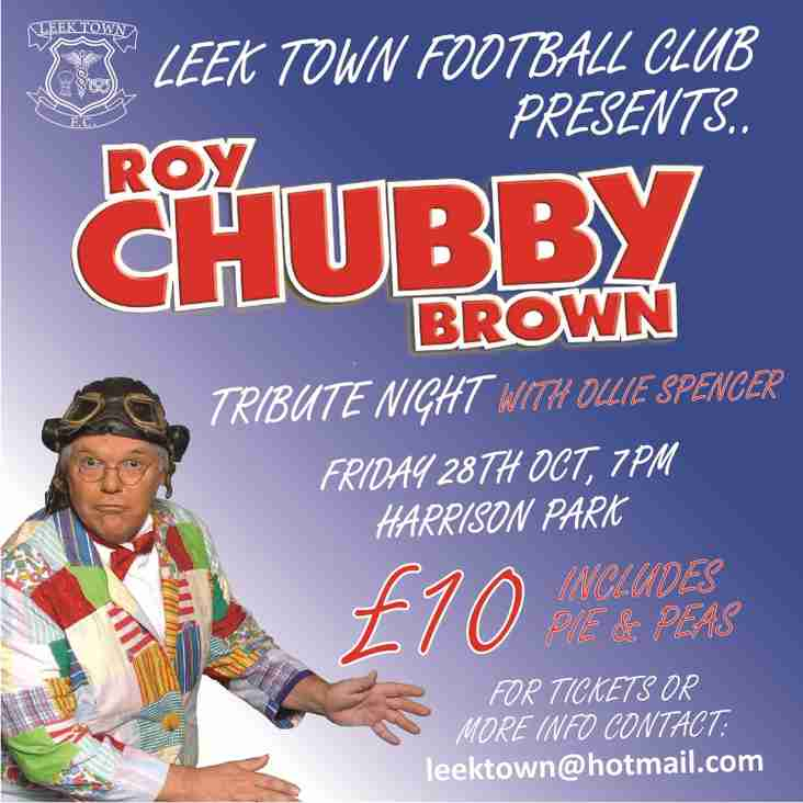 CHUBBY BROWN TRIBUTE NIGHT