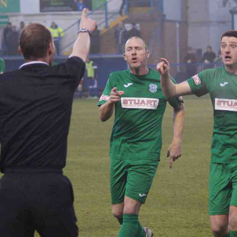 Leek Town v Bedworth United 26/11/16