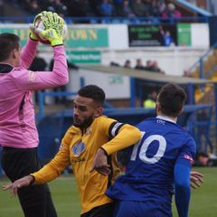 Leek Town v Basford United 21/01/17