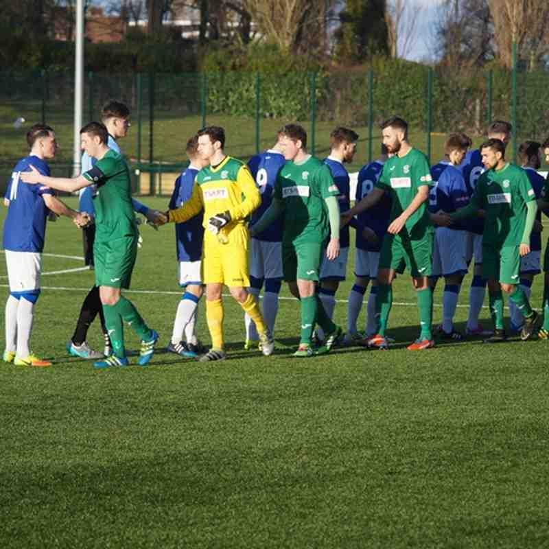Bedworth United v Leek Town 28/01/17