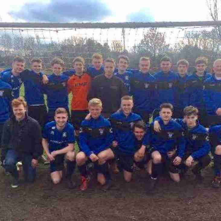 UNDER 18'S IN COUNTY CUP FINAL