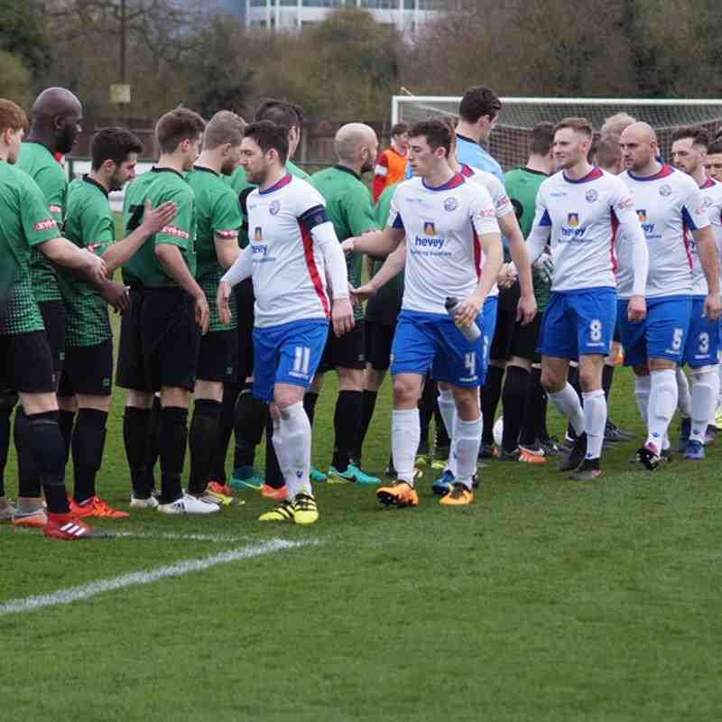 AFC Rushden & Diamonds v Leek Town 18/03/17