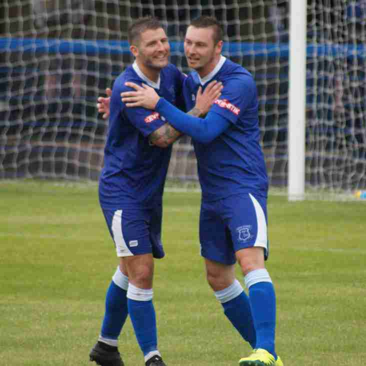 POTTERS HELD BY BATTLING BLUES