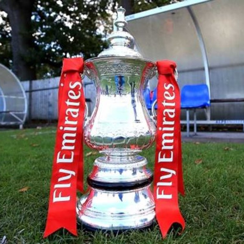 BLUES DRAWN AWAY IN THE FA CUP