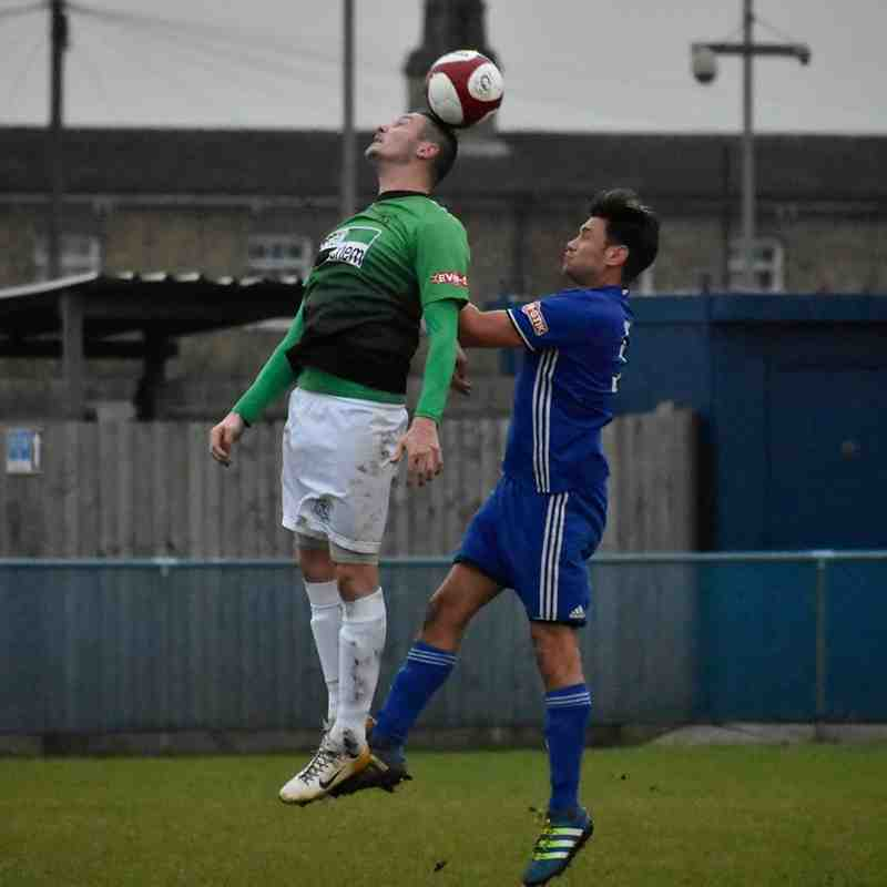 Peterborough Sports v Leek Town 02/12/17 (Courtesy of JRPhotosLincs)