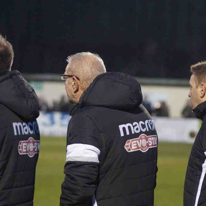 Corby Town v Leek Town 10/12/17