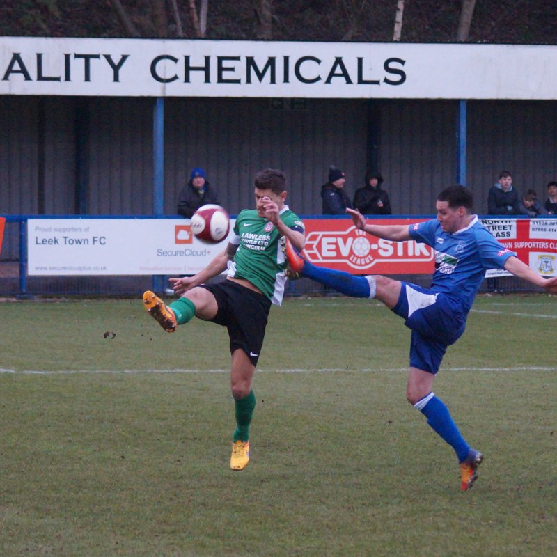 Leek Town v Lincoln United 13/01/18